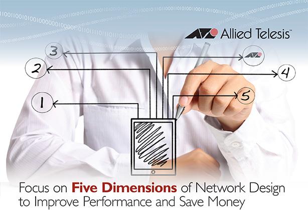 Concentraţi-vă pe cele cinci dimensiuni ale arhitecturii de reţea ca să creşteţi performanţele şi să economisiţi bani