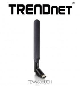 TRENDnet® TEW-806UBH, un adaptor wireless AC pe USB, de mare amplificare