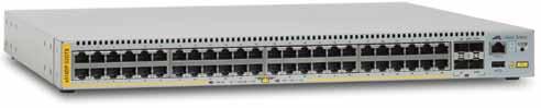 AT-x510DP-52GTX, Switch Gigabit de ultimă generaţie pentru aplicaţii din centrele de date