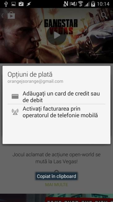 Clienţii Orange pot achita jocurile și aplicațiile din Google Play direct pe numărul lor de telefon