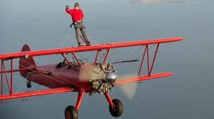 Un clujean a zburat pentru prima oara pe aripile unui avion