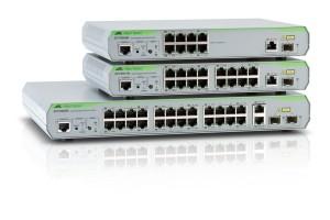 CentreCOM® FS900M Series, switch-uri de acces fast ethernet