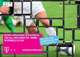 Oferta speciala de servicii integrate fix-mobil de la Telekom