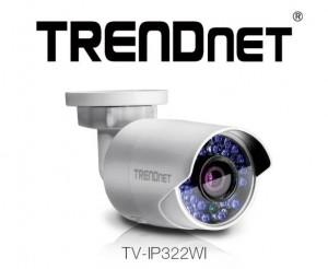Cameră de supraveghere TRENDnet pentru exterior, dotată cu modul WiFi si senzor de 1.3 MP
