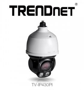 Camera de supravegere TRENDnet PTZ 360° dotată cu senzor de 2 MP