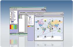 AlliedView NMS permite administrarea elementelor de reţea Allied Telesis