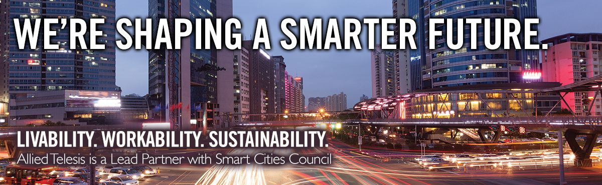 Allied Telesis a fost numit Lead Partner 2015 în Smart Cities Council