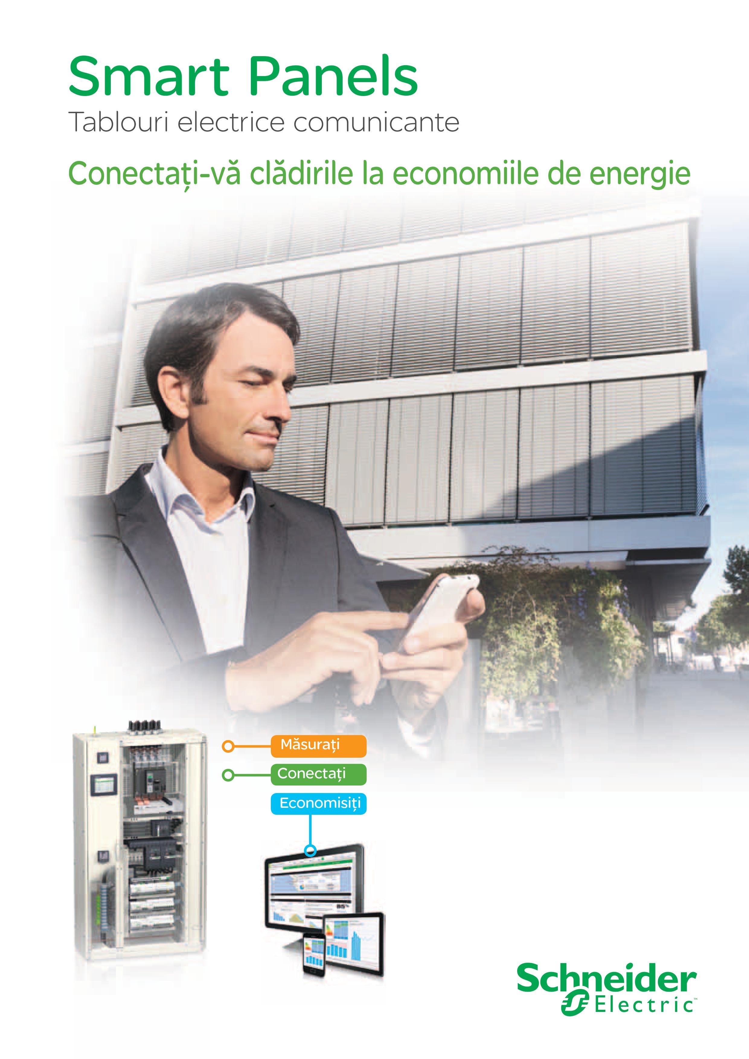 Schneider Electric lanseaza solutia Smart Panel