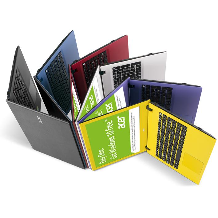 Sistemele Acer pregatite pentru Windows 10