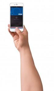 Cardurile Visa din Marea Britanie pot fi înregistrate în serviciul Apple Pay