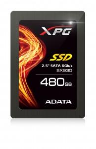 "ADATA XPG SX930 2.5"" SATA 6Gb/s, un SSD conceput special pentru gaming"