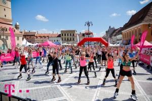 """""""Cea mai mare ora de sport"""", editia 2015: peste 50.000 de participanti"""
