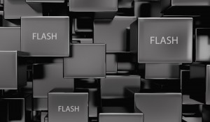 Răspunde stocarea flash nevoii de stocare big data şi de procesare date?