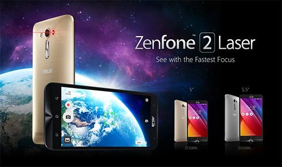 Noile telefoane ASUS ZenFone 2 Laser