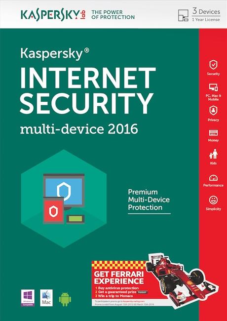 Noul Kaspersky Internet Security – multi-device 2016 cu functii de confidentialitate avansate