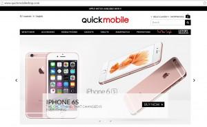 QuickMobile lanseaza magazinul international