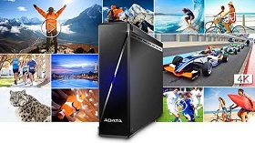 ADATA lanseaza HM900 Ultra HD Media External Hard Drive