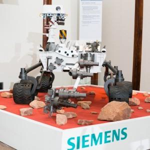 Replica robotului Curiosity prezentă la București