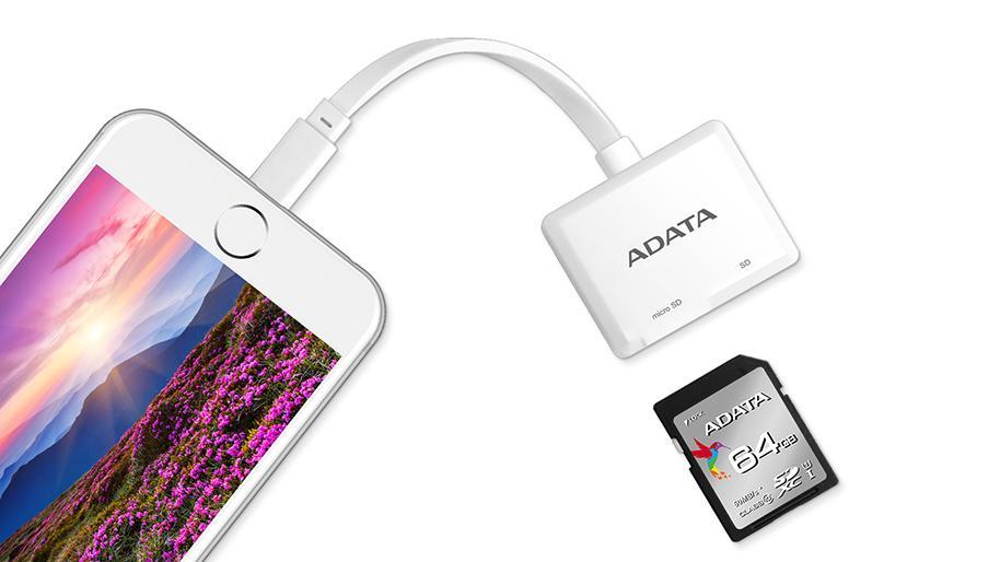 ADATA Lightning Card Reader, un cititor de carduri pentru dispozitive IOS