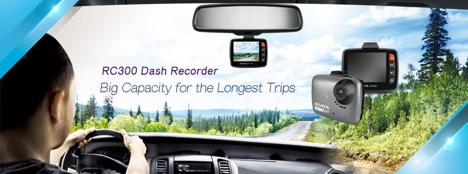 ADATA debutează în segmentul de camera video auto, prin introducerea modelului RC300