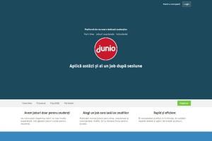 Lansarea platformei Junio specializata in recrutarea studentilor