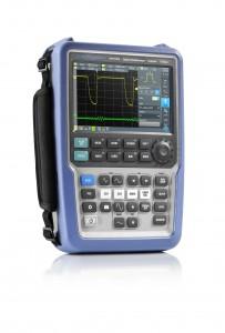 R & S Scope Rider: primul osciloscop portabil, pentru utilizări mobile, având performanțele unui instrument de laborator
