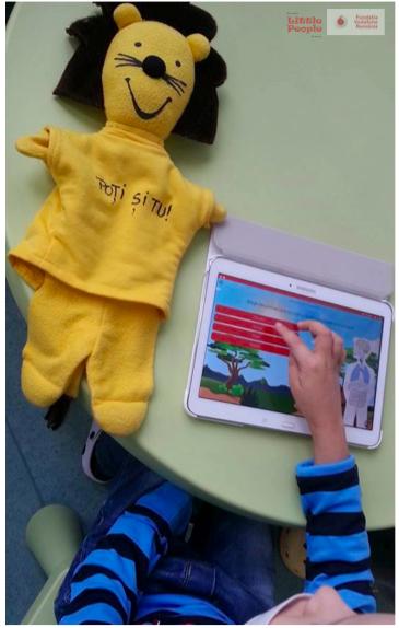 """""""Leul Curajos"""", aplicație mobilă pentru copiii bolnavi de cancer din România"""