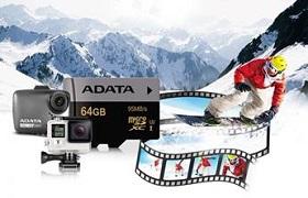 ADATA lansează cardurile de memorie microSDHC/SDXC UHS-I U3