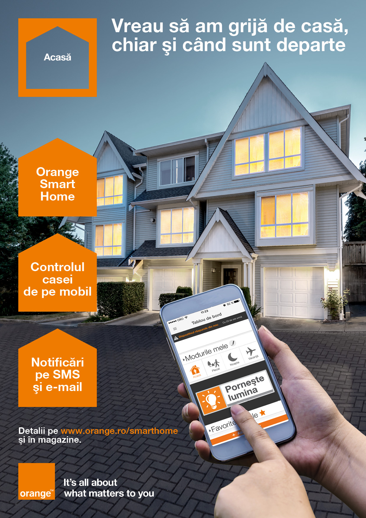 Casele pot fi mai inteligente cu Orange Smart Home