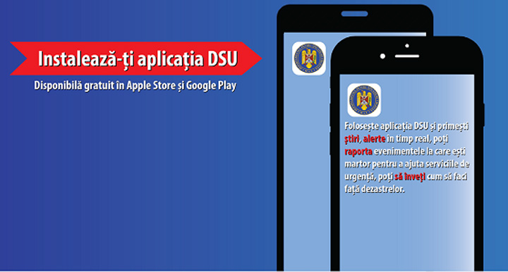 Aplicatia MAI pentru smartphone in cazuri de urgenta