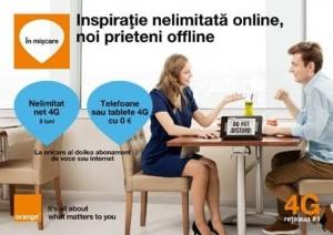Clientii Orange pot sa se bucure din plin de internetul 4G