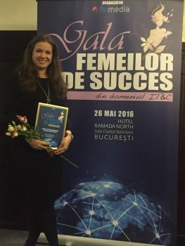 """XAPT Solutions a participat la """"Gala femeilor de succes din industria IT&C"""""""