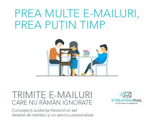 Serviciul de email marketing  care oferă cel mai complex set de statistici din România
