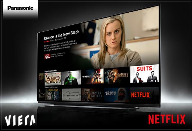 Netflix disponibil și pe televizoarele Panasonic produse înainte de 2016