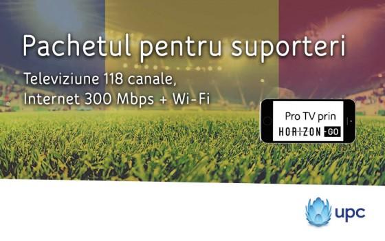 Clientii UPC Romania – pregatiti pentru o vara plina de fotbal