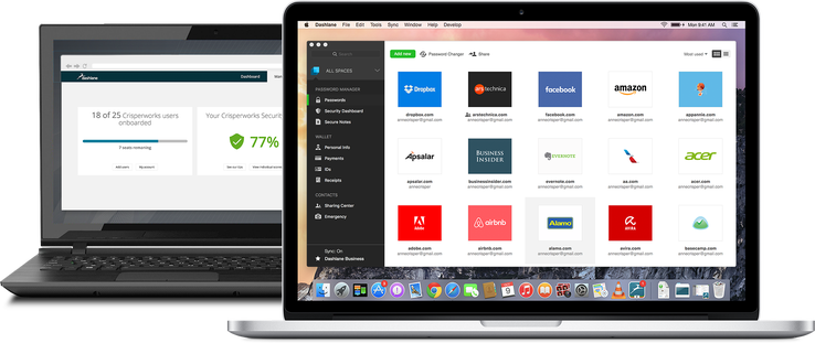 Dashlane Business oferă protecția avansată a parolelor de business