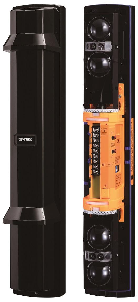 Protecţie perimetrală prin utilizarea unei unde infraroşii şi a unui  receptor fotoelectric
