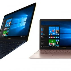 Laptopuri ASUS ultra-ușoare Zenbook 3
