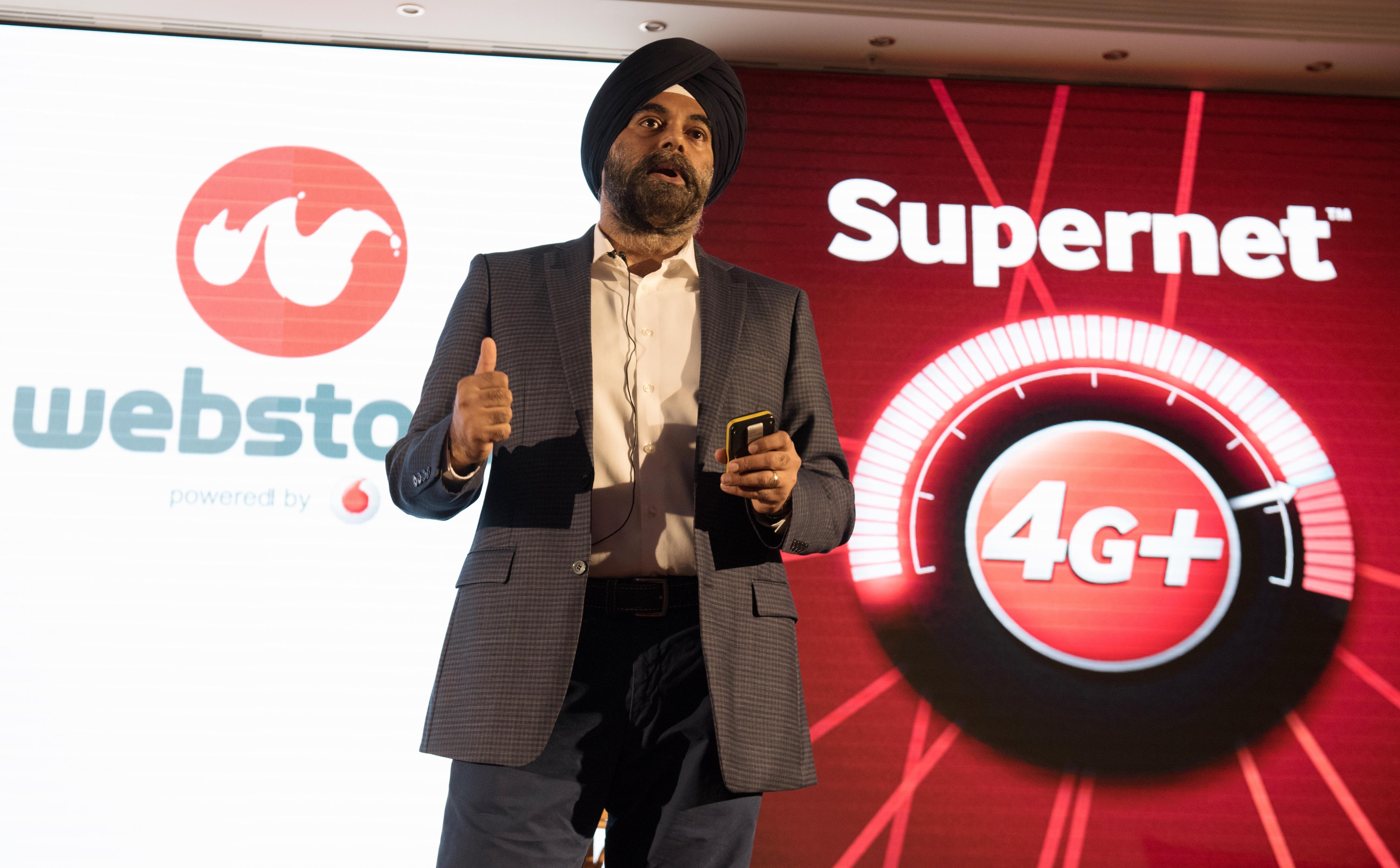 Ravinder Takkar, Vodafone: Prin serviciul 4GTV+,  clienții pot să consume conținut personalizat oricând și oriunde.