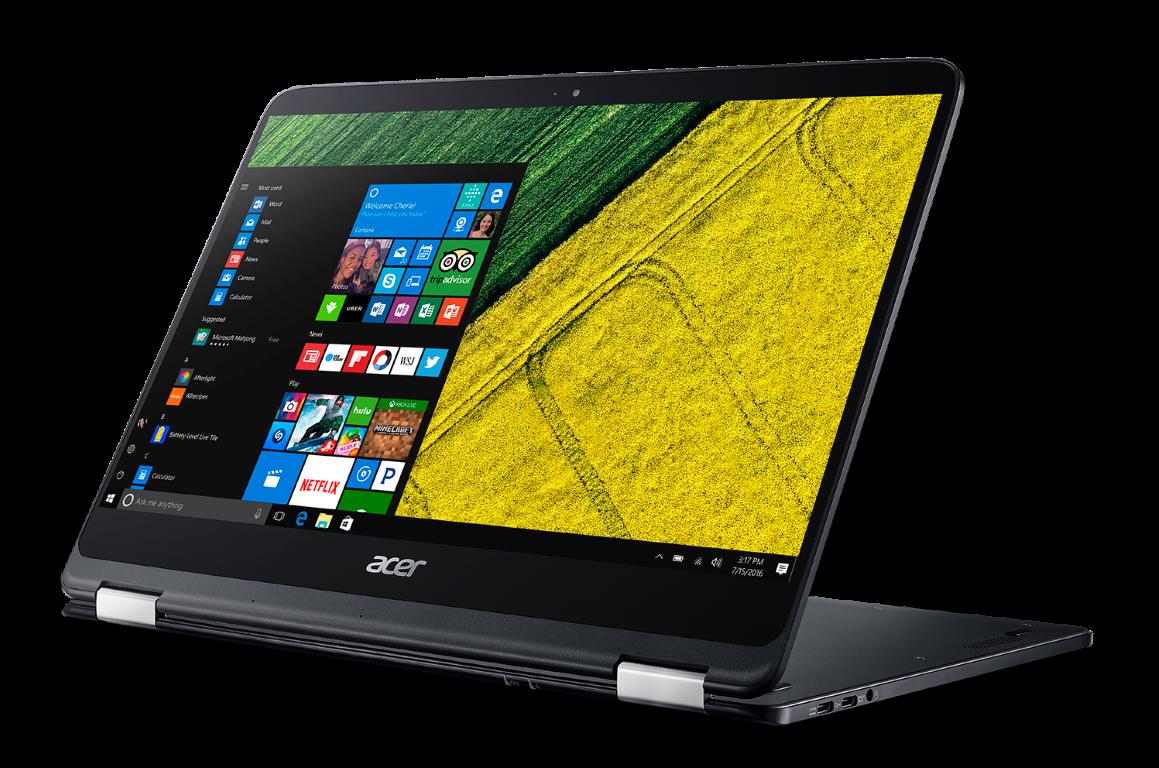 Acer Spin 7, cel mai subțire convertibil din lume