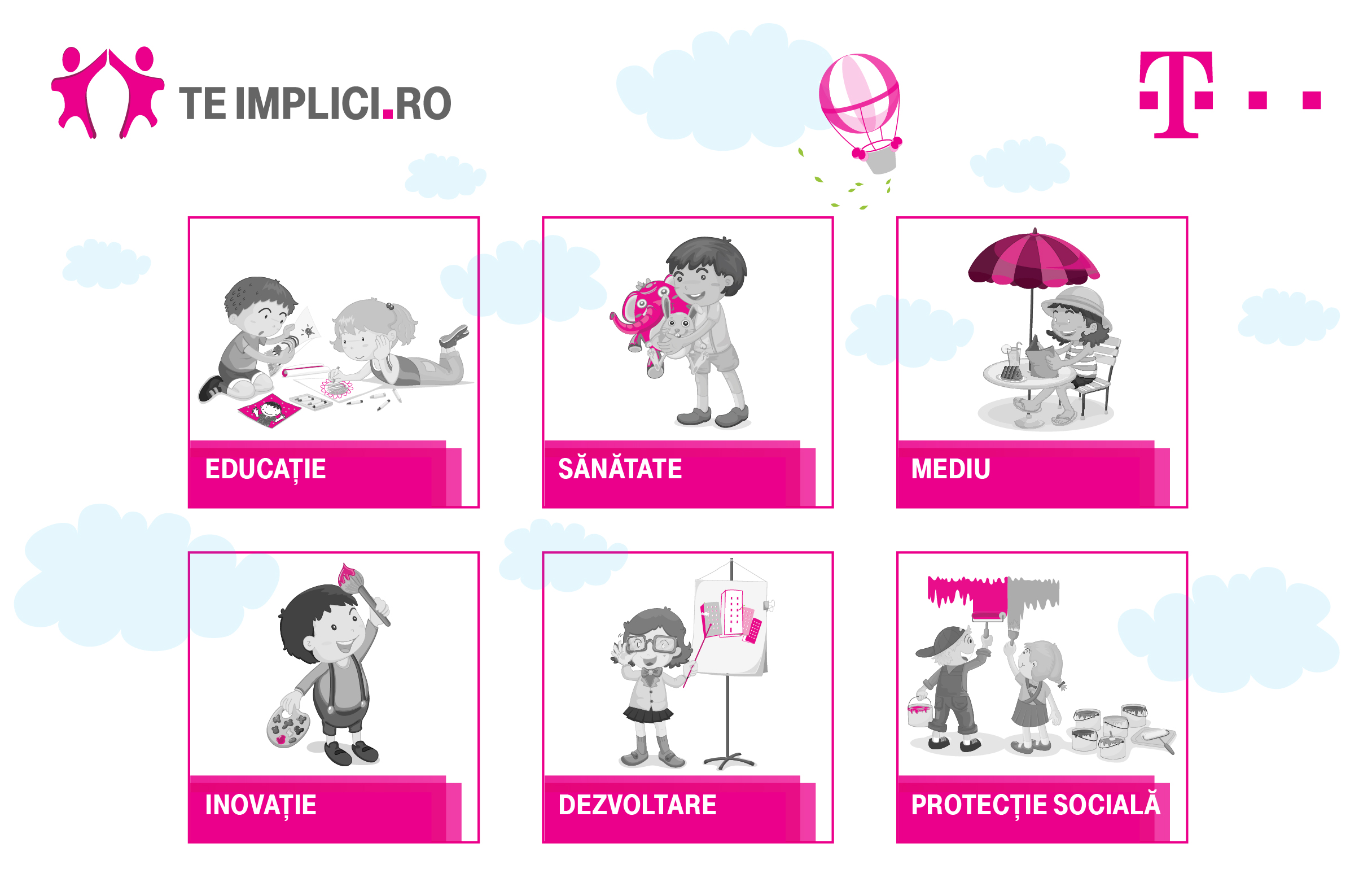 Telekom Romania continua proiectul Teimplici.ro