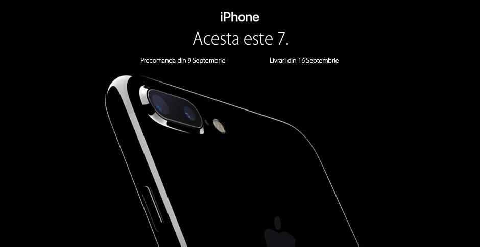 Vanzari de 1 mil. euro in trei zile pentru iPhone7 si 7 Plus