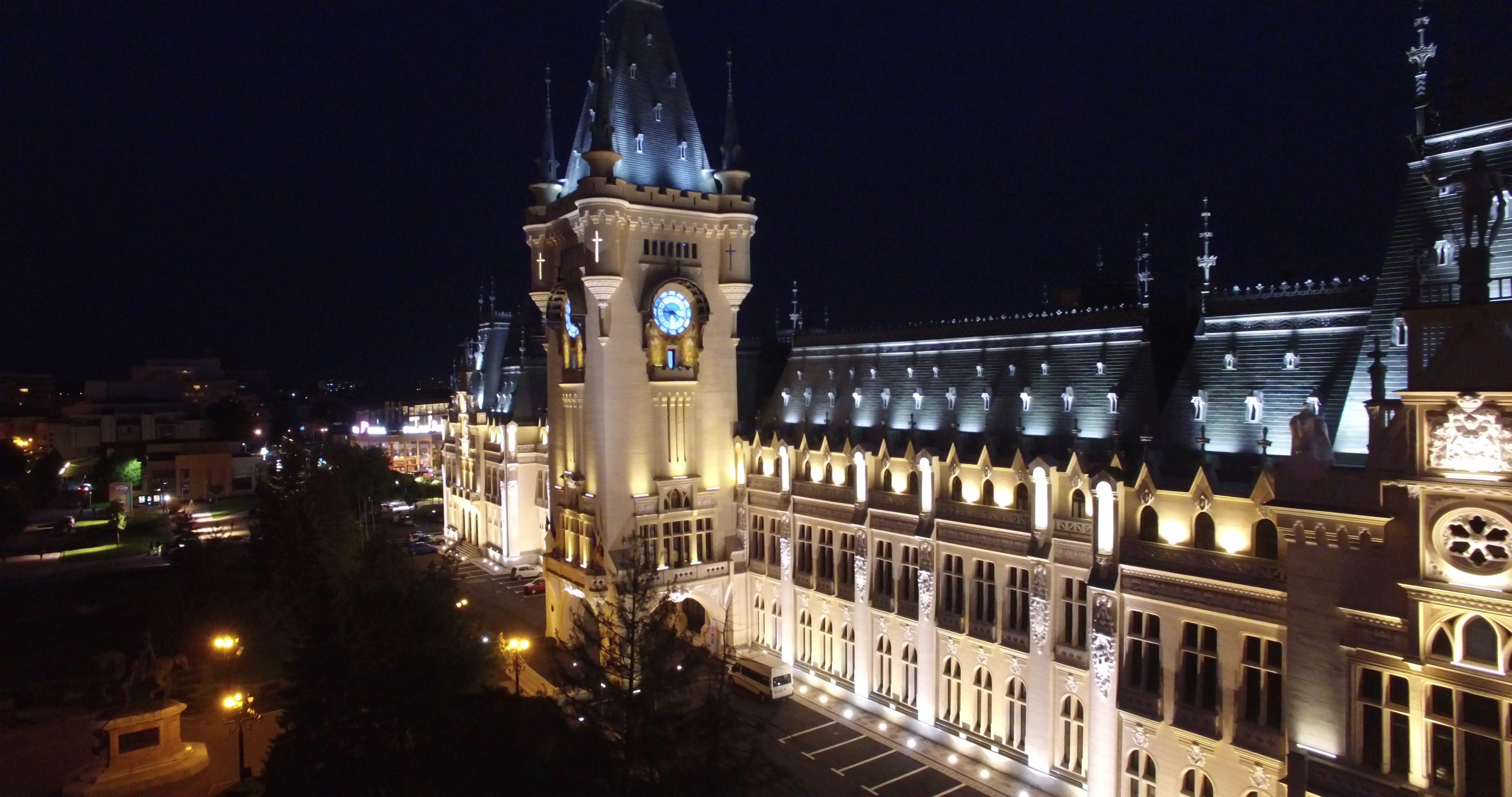 Cel mai mare proiect de iluminat arhitectural cu  LED din România