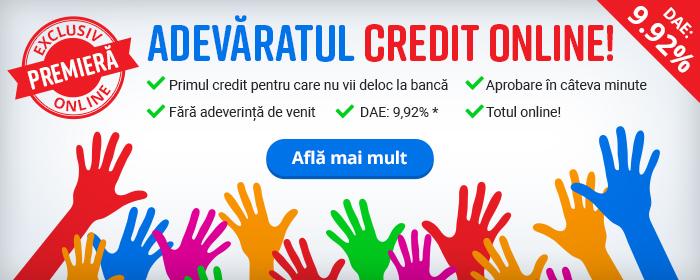 Libra Bank a lansat Creditul 100% Online
