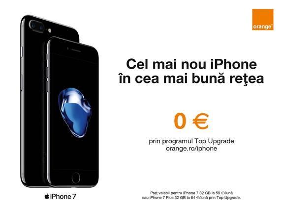 Top Upgrade: programul care oferă în premieră clienţilor Orange cel mai nou model iPhone