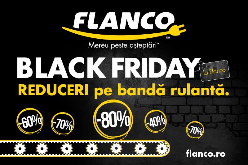 A inceput Black Friday la Flanco