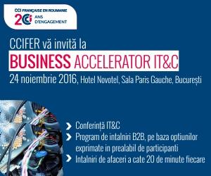 Conferinta IT&C si intalniri B2B intre achizitori si furnizori din sectorul IT&C