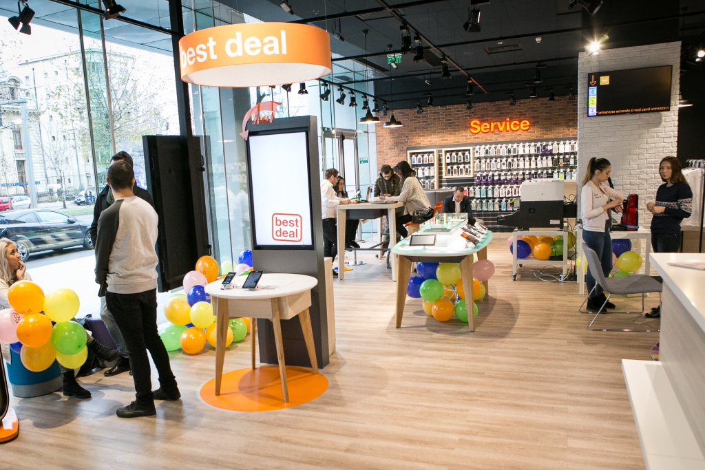 Orange deschide un nou smart shop in Bucuresti