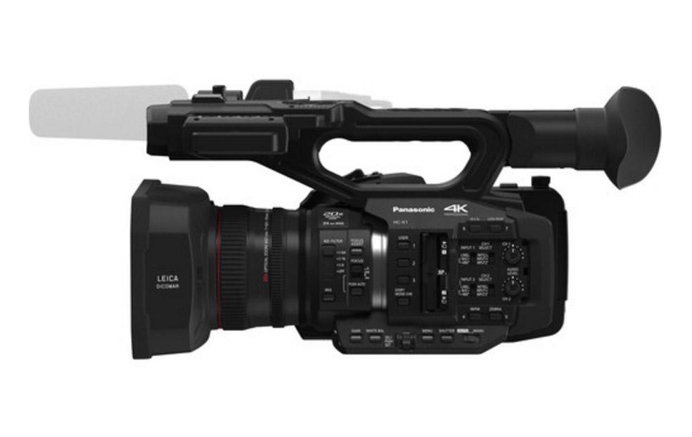 Panasonic prezintă camera video profesională 4K 60p/50p cu zoom optic 20x și distanța focală minimă foarte mică, de 24 mm