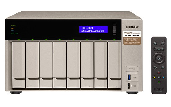 QNAP lansează serverele NAS TVS-x73 în parteneriat cu AMD